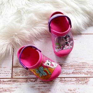 My Little Pony Candy Pink Clogs